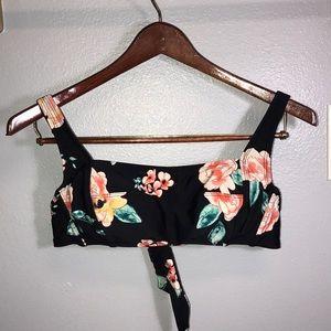 Swimsuit Floral Top